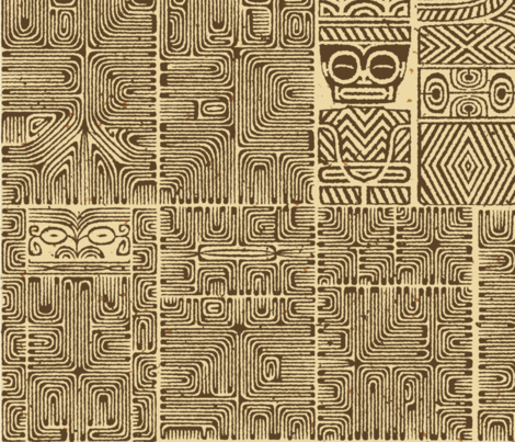 Marquesan 6a fabric by muhlenkott on Spoonflower - custom fabric
