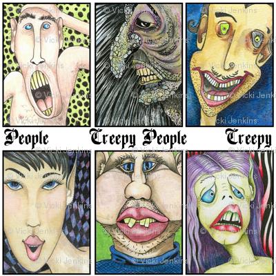 Halloween Collection 4 CREEPY People