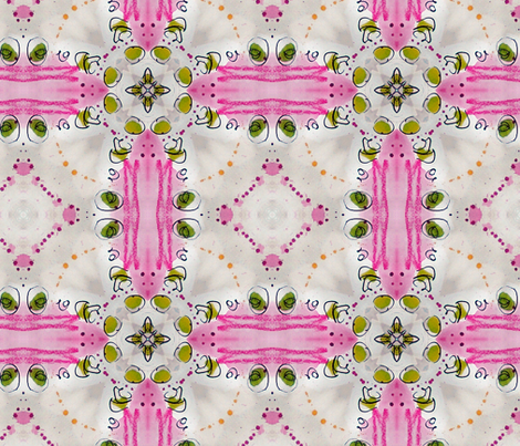 Flapper Girl by Ginette fabric by ginette on Spoonflower - custom fabric