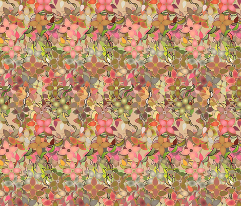 Pink_Spring fabric by patsijean on Spoonflower - custom fabric