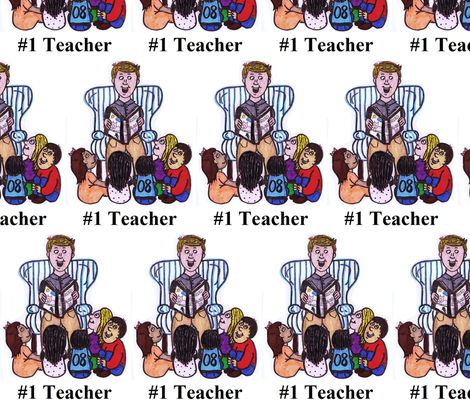 teacherartworkedit fabric by thegiltreys on Spoonflower - custom fabric