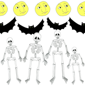 Halloween Collection 1 Boney Skeletons