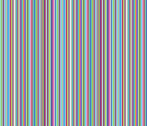 Colourful Stripes fabric by jackieatweelife on Spoonflower - custom fabric
