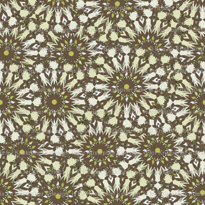 Field of Flowers - Taupe