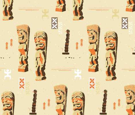 Pu'uhonua O Honaunau 1a fabric by muhlenkott on Spoonflower - custom fabric