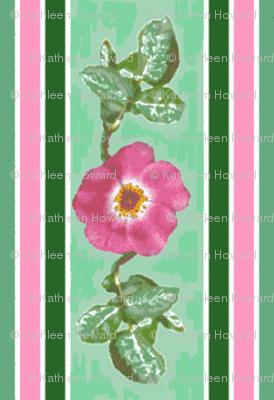 pink_single_rose_leaves_edit_stripe_Picnik_collage_preview-ch