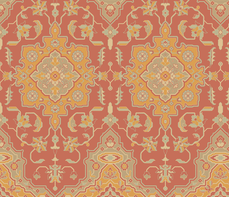 Rug 887b fabric by muhlenkott on Spoonflower - custom fabric