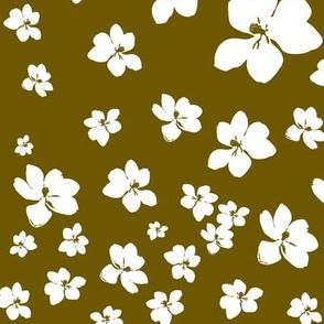 Magnolia Little Gem - Bronze - 1 yard panel