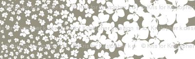 Magnolia Little Gem - Sage - 1 yard panel