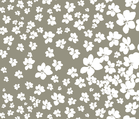 Magnolia Little Gem - Sage - 1 yard panel