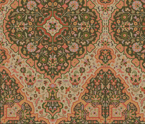 Rug 688a fabric by muhlenkott on Spoonflower - custom fabric