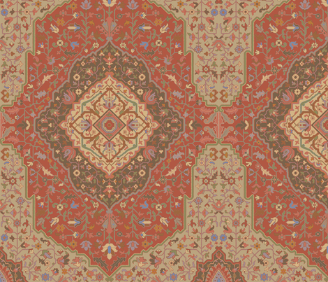 Rug 501a fabric by muhlenkott on Spoonflower - custom fabric