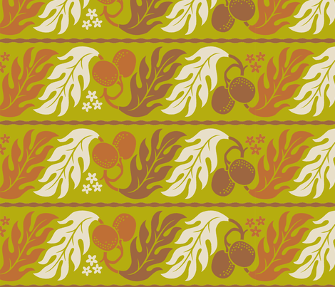 Breadfruit 1b fabric by muhlenkott on Spoonflower - custom fabric
