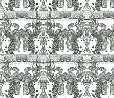 Obscure fabric by vickijenkinsart on Spoonflower - custom fabric