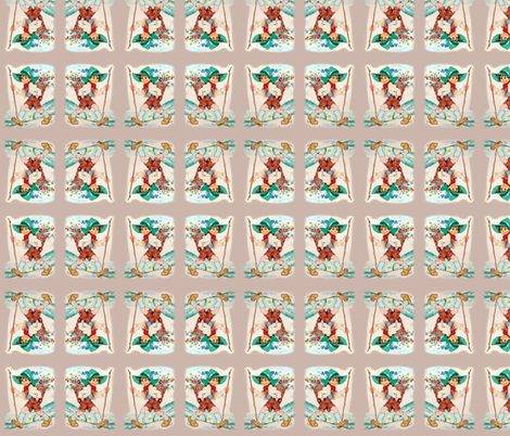 Vintage Boy fabric by kindershop on Spoonflower - custom fabric