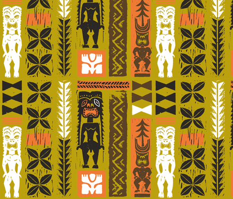 Hawaiian Tikis 3a