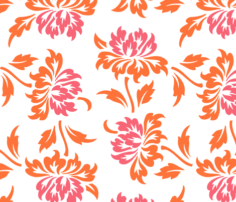 Aloha Flowers 9d fabric by muhlenkott on Spoonflower - custom fabric