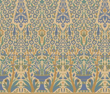 Topkapi 1b fabric by muhlenkott on Spoonflower - custom fabric