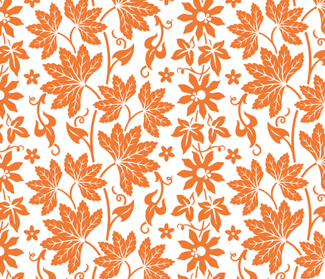 Aloha Flowers 10c fabric by muhlenkott on Spoonflower - custom fabric
