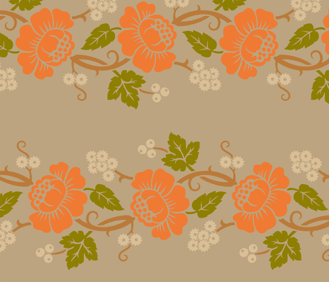 Aloha Flowers 11c fabric by muhlenkott on Spoonflower - custom fabric