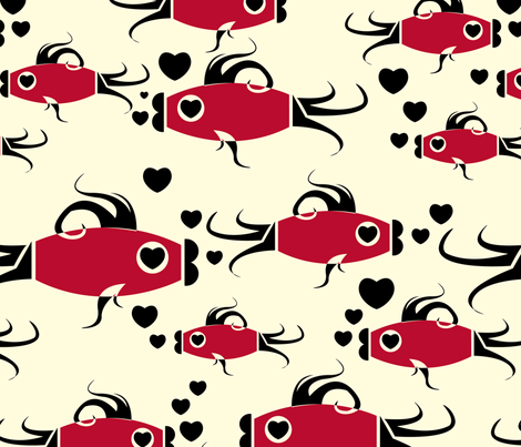 Fish Are Nice fabric by royalforest on Spoonflower - custom fabric