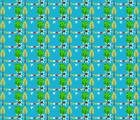 Wishing For Spring fabric by anacskie on Spoonflower - custom fabric