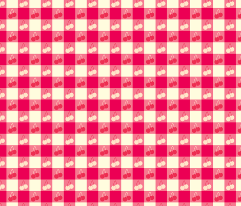 Ice Cream Social :: Banana Split :: Picnic Table fabric by cottageindustrialist on Spoonflower - custom fabric