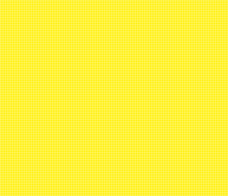 Ice Cream Social :: Banana Split :: Check :: Yellow fabric by cottageindustrialist on Spoonflower - custom fabric