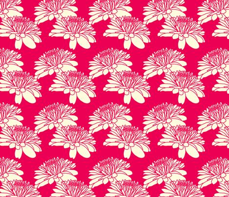 Ice Cream Social :: Banana Split :: Mum fabric by cottageindustrialist on Spoonflower - custom fabric