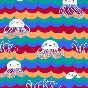 Jellyfish Peek-a-boo