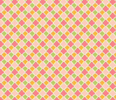Ice Cream Social :: Rainbow Sherbet :: Tiles fabric by cottageindustrialist on Spoonflower - custom fabric