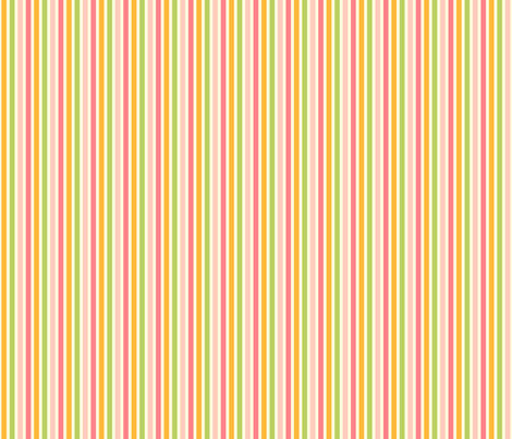 Ice Cream Social :: Rainbow Sherbet :: Candy Stripe fabric by cottageindustrialist on Spoonflower - custom fabric