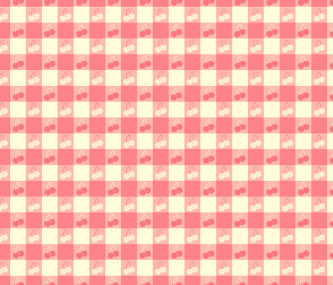 Ice Cream Social :: Rainbow Sherbet :: Picnic Table fabric by cottageindustrialist on Spoonflower - custom fabric