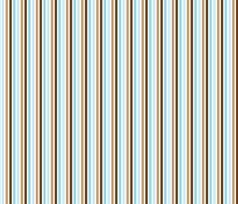 Ice Cream Social :: Blue Moon :: Candy Stripe fabric by cottageindustrialist on Spoonflower - custom fabric