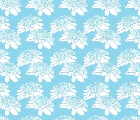 Ice Cream Social :: Blue Moon :: Mum fabric by cottageindustrialist on Spoonflower - custom fabric