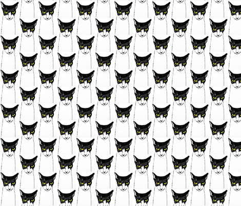 tallkitty fabric by bonspiel on Spoonflower - custom fabric
