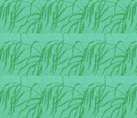 snow_post_aperagus_fern_003 fabric by khowardquilts on Spoonflower - custom fabric