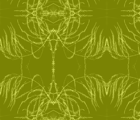 invert_tint_aperagus_fern_003-ch fabric by khowardquilts on Spoonflower - custom fabric