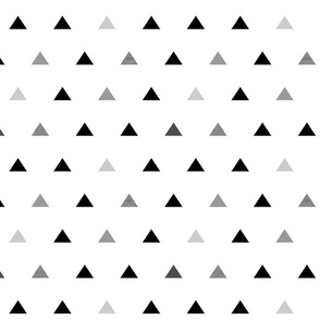 Black Gray Triangles