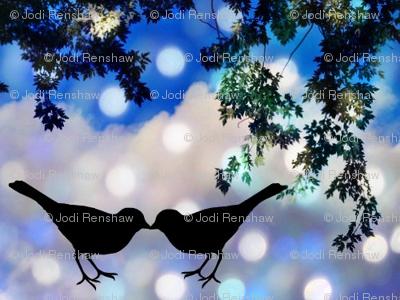 Snowbirds in Love.