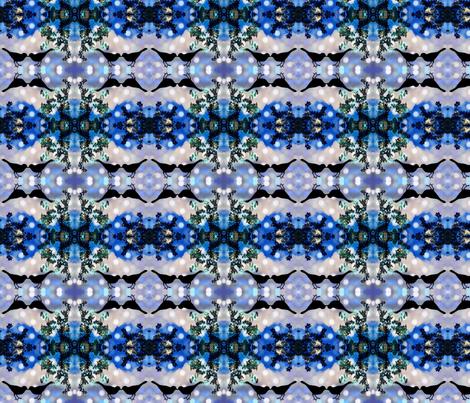Snowbirds in Love. fabric by jodirenshaw on Spoonflower - custom fabric