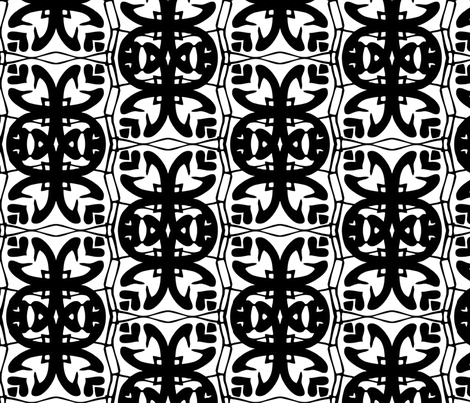interlocking_motif_half-drop fabric by thatswho on Spoonflower - custom fabric