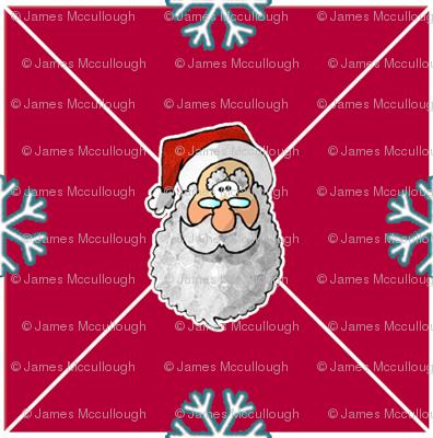Santa & Snowflakes
