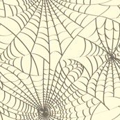 Spidery Web - Black