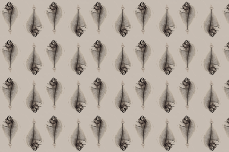 Xray Fishy fabric by nalo_hopkinson on Spoonflower - custom fabric