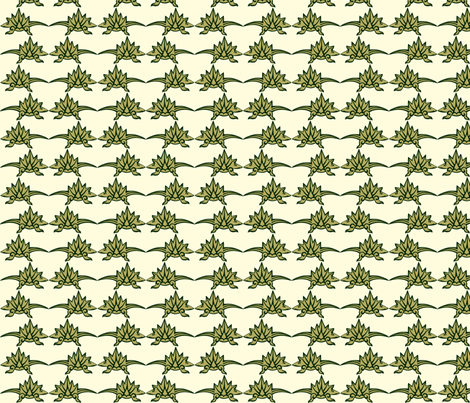 Cuteasaurous-Tile fabric by kerryone on Spoonflower - custom fabric