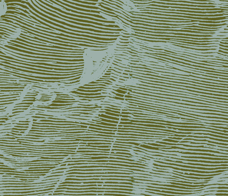 waves fabric by fluxnyc on Spoonflower - custom fabric