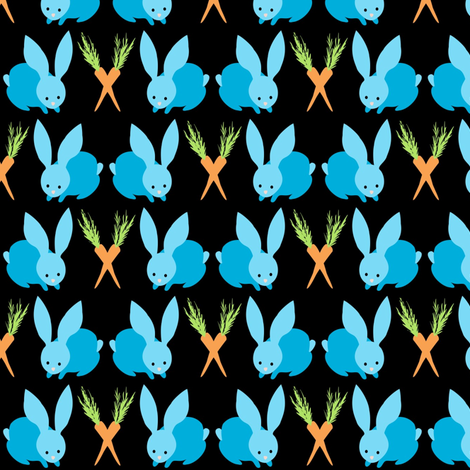bunny_baby fabric by vo_aka_virginiao on Spoonflower - custom fabric