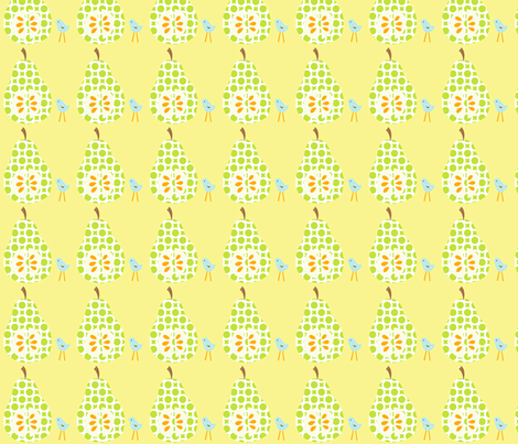 green_pear_final fabric by petunias on Spoonflower - custom fabric