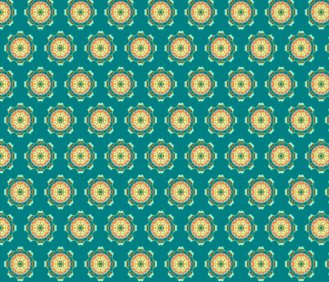 orange_blue_starburst1 fabric by jkayep2 on Spoonflower - custom fabric